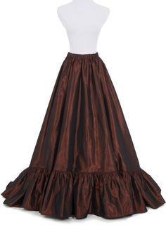 87cc2ac11a Find More Skirts Information about Victorian Taffeta Bustle Skirt