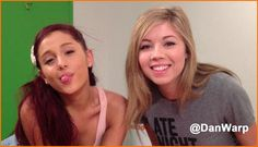 "ariana grande sam and cat tv show photos | Ariana Grande And Jennette McCurdy ""Sam & Cat"" March 14, 2013 ..."