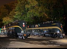 RailPictures.Net Photo: PRR 4879 Pennsylvania Railroad GG-1 at Boonton, New Jersey by Dennis A. Livesey