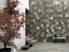 Slate wall tiles / flooring FANGO ORIGAMI ATELIER I Neutri Collection by ARTESIA® / International Slate Company | design Francesca Dondero
