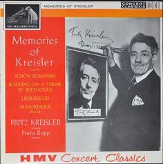 Fritz Kreisler – Memories Of Kreisler