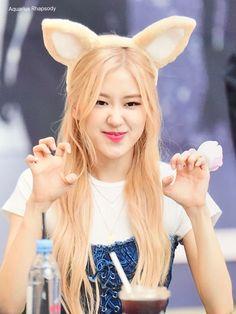- a literal baby Kim Jennie, South Korean Girls, Korean Girl Groups, Yg Entertainment, Divas, Rose And Rosie, Black Pink Kpop, Blackpink Members, Cute Rose