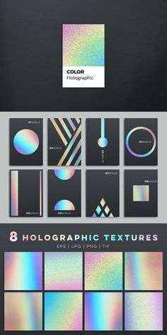 holographic textures and templates. Holographic holographic textures and templates. Graphic Design Tutorials, Graphic Design Posters, Graphic Design Inspiration, Graphic Design Trends, Layout Design, Logo Design, Holographic Background, Plakat Design, Poses References