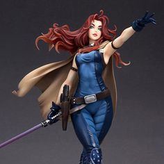 Star Wars Mara Jade Skywalker Statue Yes. Mara Jade, Star Wars Jedi, Star Wars Art, Anime Redhead, Bishoujo Statue, Snake Girl, War Bonnet, Star Wars Pictures, Star Wars Concept Art