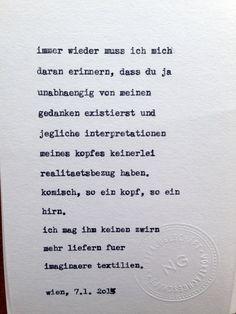 Gedicht von Nicola Gold