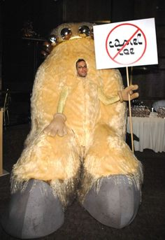 Marc Jacobs at a dress up party in 2007 - Say No to Camel Toe!