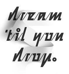 Ace Hotel — Typographic artwork on Behance