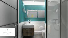 Bathroom design concept by MiD Interior Design And Graphic Design, 3d Rendering, Concept, Mirror, Bathroom, Furniture, Home Decor, Washroom, Decoration Home