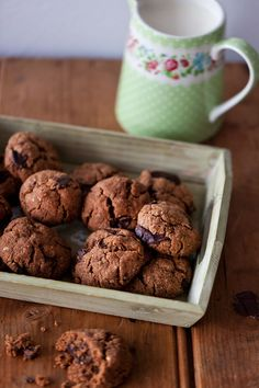 ALMOND BUTTER CHOCOLATE COOKIES, GF