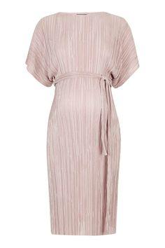 b0352df67e72 Maternity Pleat Batwing Midi Dress. Maternity Fashion WeddingWedding Guest  Midi DressesPregnant ...