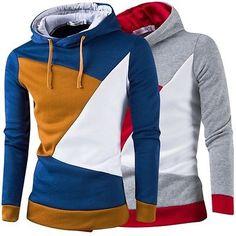 New Women's Fashion Hedging Sweats Tops Trends Splice Hoodies Pullover Blazers | eBay