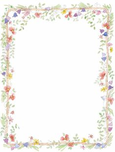 Free Flower Border Clip Art | we are here to witness the marriage commitment of…