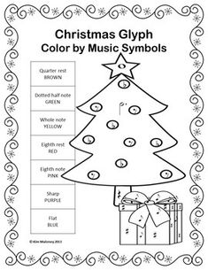 Music Coloring Sheets: 24 Christmas Music Coloring Pages