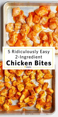 Fast and Easy Chicken Bite Recipes. Like nuggets and perfect for kids AND adul. 5 Fast and Easy Chicken Bite Recipes. Like nuggets and perfect for kids AND adul. 5 Fast and Easy Chicken Bite Recipes. Like nuggets and perfect for kids AND adul. Easy Chicken Dinner Recipes, Healthy Chicken Recipes, Healthy Dinner Recipes, Boneless Chicken Recipes Easy, Recipe For Chicken Bites, Recipes With Chicken Breast Easy, Easy Recipes With Chicken, Toddler Chicken Recipes, Healthy Recipes