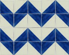 Harlequin Talavera Mexican Tile Close-Up