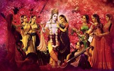 """Does Your Wife Run After Krishna? Bhakti Charu Swami: """"Another way that Krishna attracts is through His dealings with us and these dealings give rise to five principle relationships. Those fi…"""