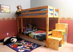 DIY a Bunk Bed With These Free Plans: Classic Bunk Bed Plan from Ana White