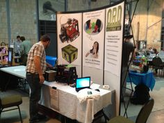 Our booth. 'ORD' Was the first thing everyone saw when they walked into the faire!