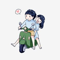Hand Drawn Cartoon Chinese Valentines Day Couple Riding A Motorcycle Couple Young PNG and PSD Cute Couple Drawings, Cute Couple Art, Cute Drawings, Painting Love Couple, Cartoon Cartoon, Cartoon Drawings, Love Cartoon Couple, Cute Love Cartoons, Love Png