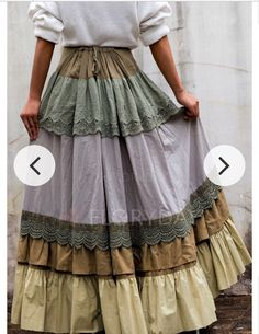 Shop Floryday for affordable Skirts. Floryday offers latest ladies' Skirts collections to fit every occasion. Boho Skirts, Casual Skirts, Boho Fashion, Fashion Outfits, Fashion Rings, Maxi Robes, Skirts For Sale, Skirts With Pockets, Ruffle Skirt