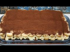 Greek Cooking, Tiramisu, Deserts, Food And Drink, Sweets, Baking, Cake, Ethnic Recipes, Youtube