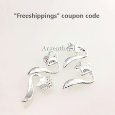 2pc 12mm Matte Silver tarnish resistant small fox charm, fox connectors, pendants, Kids necklace, Animal necklace, Animal charm AG2016111308 by Argentbead on Etsy