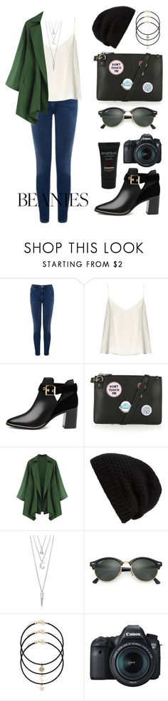 """Untitled #154"" by longarina ❤ liked on Polyvore featuring Warehouse, Raey, Ted Baker, Topshop, Rick Owens, BERRICLE, Ray-Ban, Eos and Smashbox"