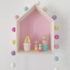 Our home made felt ball garland comes in 4 different lengths. The picture featured is a 2 metre long garland with felt balls. Turquoise Girls Rooms, Pink Turquoise, Felt Ball Rug, Felt Ball Garland, Harper Nursery, Diy Wooden Projects, Unicorn Rooms, Pastel House, Pink Sand