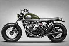 Custom Triumph Bonneville | Ton-Up Garage - Grease n Gasoline