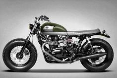 Custom Triumph Bonneville | Ton-Up Garage - Grease n Gasoline