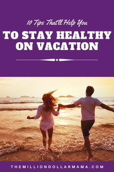 Tips on how to stay healthy even when you're on vacation. This will help you feel better, both mentally and physically, and allow you to enjoy your vacation even more! Enjoy Your Vacation, Healthy Lifestyle Tips, Living A Healthy Life, Work Life Balance, Eat Right, How To Stay Motivated, Eating Well, Feel Better, How To Stay Healthy
