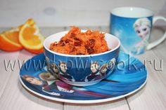 HowICook: Салат с морковкой и изюмом для детей