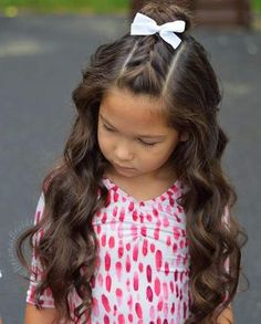 Hairstyles for girls picture day 49 Ideas Hairstyles for girls picture day 49 IdeasYou can find Girl hair and more on our website.Hairstyles for girls picture day 49 Ideas Hairstyles. Girls Hairdos, Easy Little Girl Hairstyles, Cute Girls Hairstyles, Girls Braids, School Picture Hairstyles, Toddler Girls Hairstyles, Braided Hairstyles For Kids, Toddler Hair Dos, Plait Hairstyles