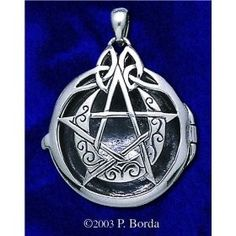 Crescent moon pentacle locket by DD that I've been eyeing forever. Look how beautiful and intricate it is.