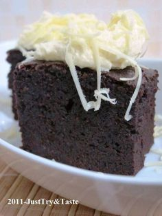 Just Try & Taste: Resep Pembaca JTT: Brownies Lezat & Legit ala Chan...