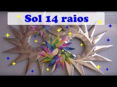 SOL 14 RAIOS - ORIGAMI - YouTube