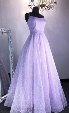 Lilac Prom Dresses, Sequin Evening Dresses, Pretty Prom Dresses, Lilac Dress, A Line Prom Dresses, Dance Dresses, Homecoming Dresses, Formal Dresses, Graduation Dresses