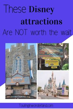 These rides at Disney World are totally skippable. the are the attractions that you will not miss if you have to skip something on your Disney vacation. Disney On A Budget, Disney Vacation Planning, Disney World Planning, Disney World Vacation, Disney Cruise, Disney Vacations, Walt Disney World Rides, Disney World Attractions, Disney Fanatic