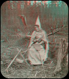 The Hubbard Co Witch anaglyph 3D | Flickr - Photo Sharing!