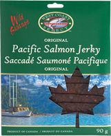 / Nourishing, tasty, and kid-endorsed, our tender Wild Salmon Jerky is a deeply satisfying combination of wild salmon and spices. Pacific Salmon, E Coupons, Smoked Salmon, British Columbia, Gourmet Recipes, Tasty, Christmas Ornaments, The Originals, Holiday Decor