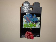 Released January 22, 2005----- LE 1000 This LE pin-on-pin was designed by Susan Foy of Disney Design Group. It features. Stitch on his tummy and he appears to be sinking his teeth and claws into the background. | eBay!
