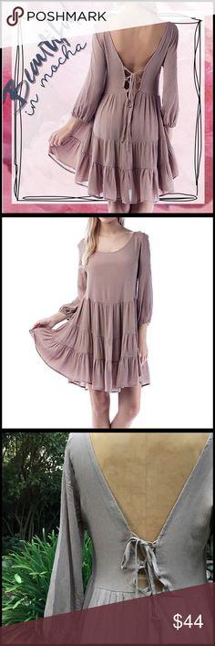 Back Lace-up Dress Back Lace-up Dress Boutique Dresses