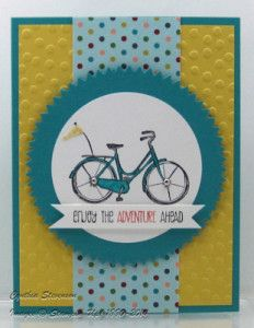 """Love this new Hostess stamp set from Stampin' Up!  It's called Life's Adventure - lots of great images make this a good """"go-to"""" set! www.cynthiascreativecorner.com"""