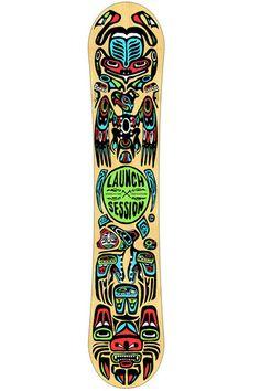 This was my first snowboard! Vintage Retro Burton ...