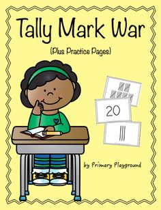 A fun and engaging way for students to practice counting tally marks and comparing numbers; $