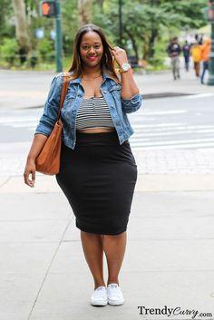 Trendy Curvy - Plus Size Fashion Blog - Trendy Curvy