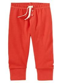 Button leggings, baby boy=Gap