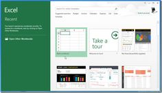 Whats New in Microsoft Excel 2013