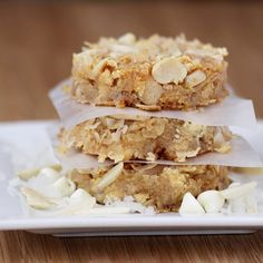 white chocolate seven layer bars