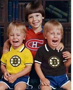 Bruins Go Habs Go. Oh yeah baby! Cute Funny Pics, Funny Images, Best Funny Pictures, Funny Stuff, Stupid Funny, Hockey Mom, Hockey Teams, Montreal Canadiens, Flannel